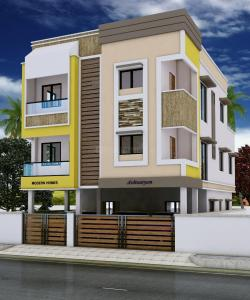 Gallery Cover Image of 536 Sq.ft 1 BHK Apartment for buy in Gerugambakkam for 2412000