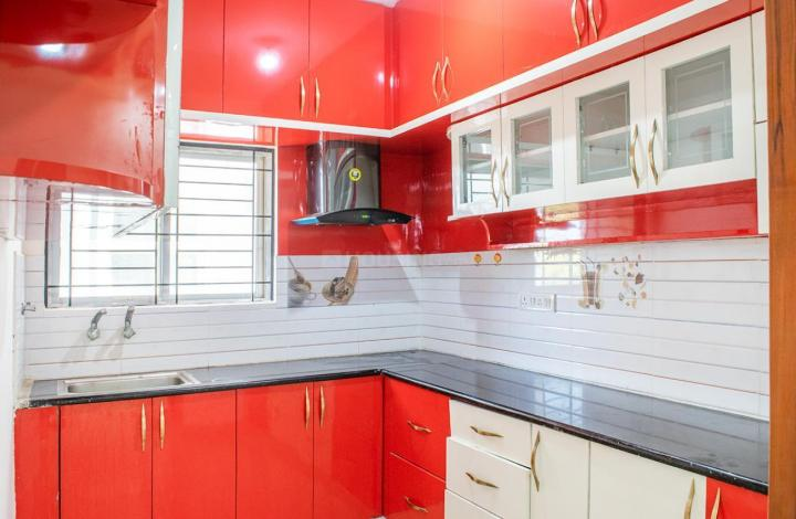 Kitchen Image of 1408 Sq.ft 3 BHK Apartment for rent in Whitefield for 28000