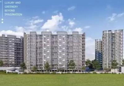 Gallery Cover Image of 575 Sq.ft 1 BHK Apartment for buy in Unimont Imperia, Yashwant Nagar for 2300000