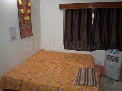 उत्तम नगर में अंजु पीजी होम के बेडरूम की तस्वीर