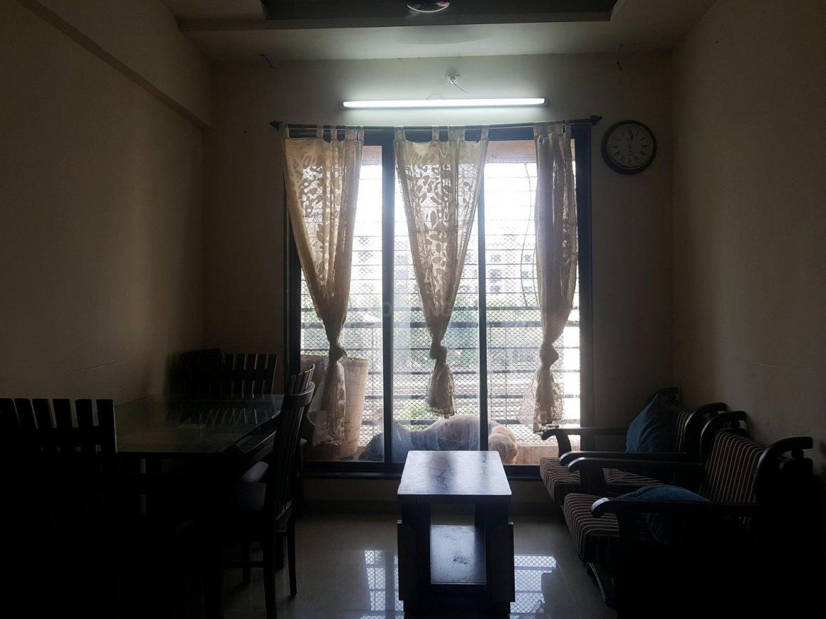 Living Room Image of 650 Sq.ft 1 BHK Apartment for rent in Bhayandar East for 10000