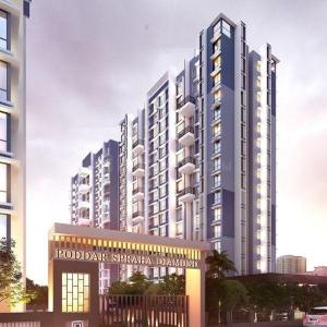 Gallery Cover Image of 600 Sq.ft 1 BHK Apartment for buy in Poddar Spraha Diamond, Chembur for 13400000