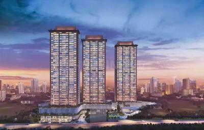 Gallery Cover Image of 926 Sq.ft 3 BHK Apartment for buy in Godrej Exquisite, Thane West for 14900000