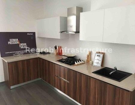 Kitchen Image of 685 Sq.ft 1 BHK Apartment for buy in Chikkakannalli for 4400000