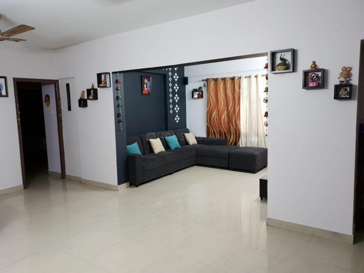 Living Room Image of 1600 Sq.ft 3 BHK Apartment for rent in Krishnarajapura for 24000