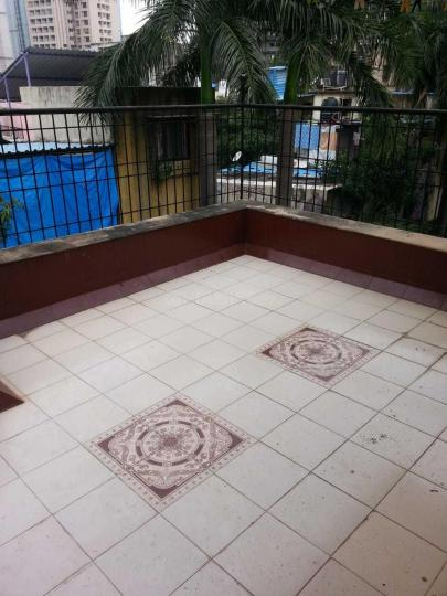 Terrace Image of 650 Sq.ft 1 BHK Apartment for rent in Kandivali West for 22000