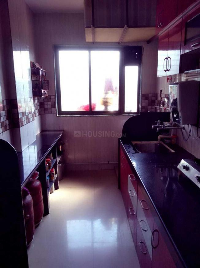 Kitchen Image of 580 Sq.ft 1 BHK Apartment for rent in Badlapur West for 4500