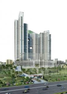 Gallery Cover Image of 1500 Sq.ft 3 BHK Apartment for rent in Omkar Alta Monte, Malad East for 50000
