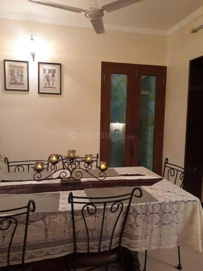 Dining Area Image of 597 Sq.ft 1 BHK Apartment for rent in Andheri East for 45000