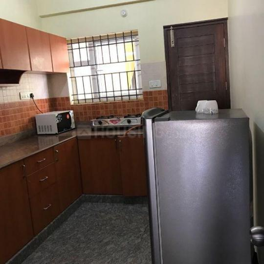 Kitchen Image of 1200 Sq.ft 1 BHK Apartment for rent in Hebbal Kempapura for 17000