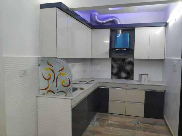 Kitchen Image of 735 Sq.ft 3 BHK Independent Floor for buy in Uttam Nagar for 3500000
