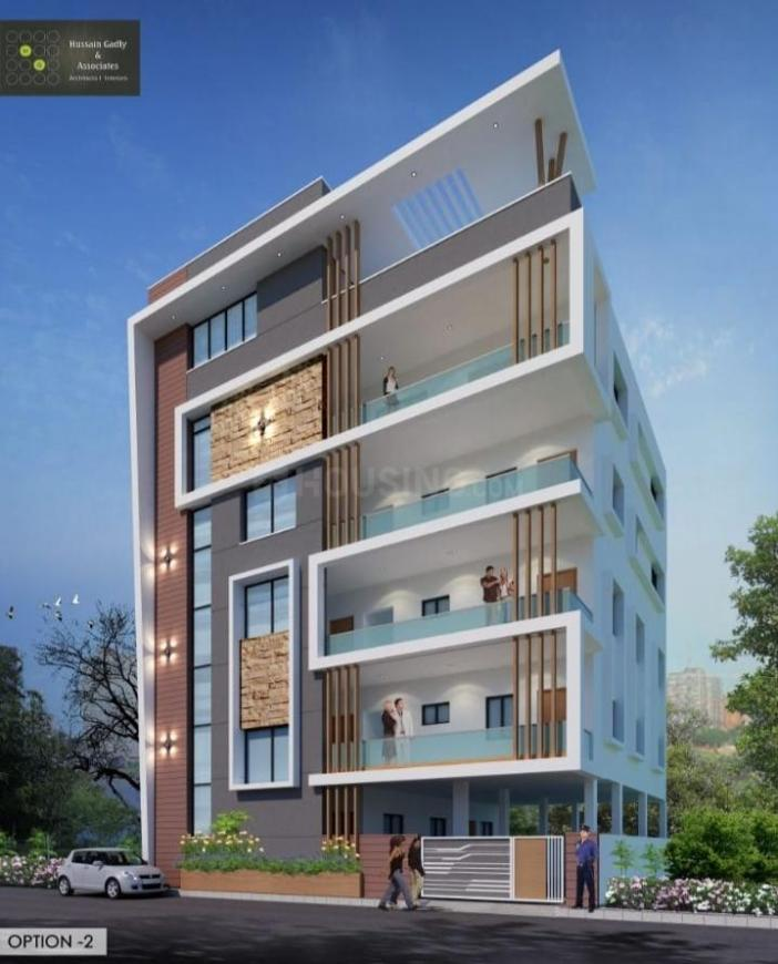 Building Image of 1150 Sq.ft 3 BHK Apartment for rent in Yousufguda for 20000