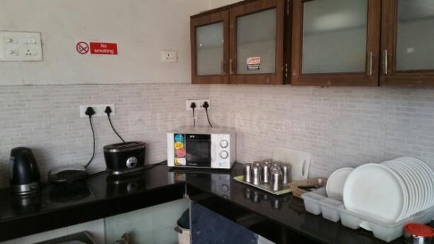 विमान नगर में शिवम पीजी के किचन की तस्वीर