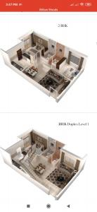 Gallery Cover Image of 850 Sq.ft 1 BHK Apartment for buy in Thanisandra for 3750000