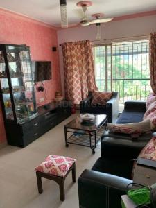 Hall Image of 860 Sq.ft 2 BHK Apartment for buy in Om Sai Palace, Mira Road East for 6500000
