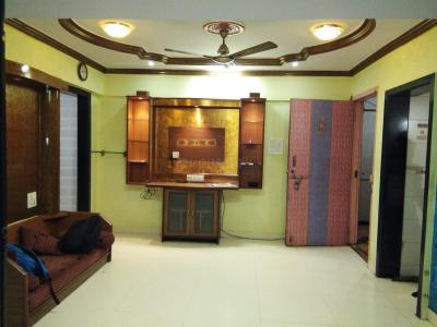 Gallery Cover Image of 700 Sq.ft 1 BHK Apartment for rent in Airoli for 29000