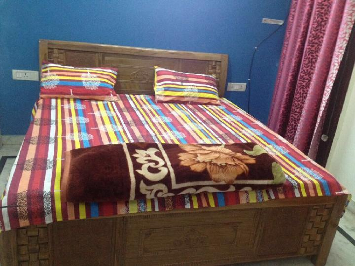 Bedroom Image of 600 Sq.ft 1 BHK Independent Floor for rent in Sector 38 for 18000