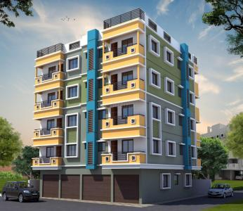 Gallery Cover Image of 573 Sq.ft 1 BHK Apartment for buy in South Dum Dum for 2464000