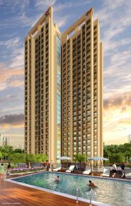 Gallery Cover Image of 750 Sq.ft 1 BHK Apartment for buy in Mukta Mukta Residency, Daighar Gaon for 3800000