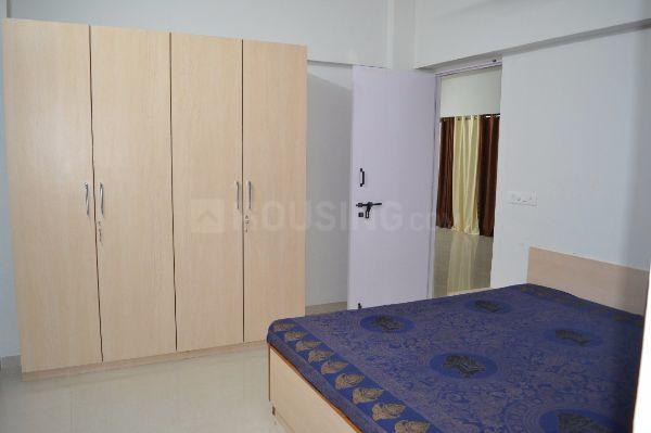 Bedroom Image of 1150 Sq.ft 2 BHK Apartment for rent in Pimple Saudagar for 22000