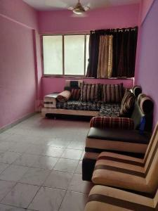 Gallery Cover Image of 640 Sq.ft 1 BHK Apartment for rent in Airoli for 23000