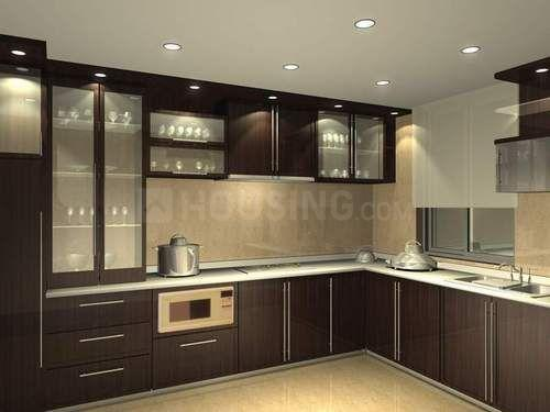 Kitchen Image of PG With Furnished Flat With No Brokerage In Thane Ynh in Hiranandani Estate