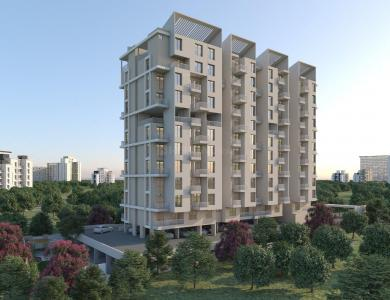 Gallery Cover Image of 808 Sq.ft 1 BHK Apartment for buy in Wakad for 4849500