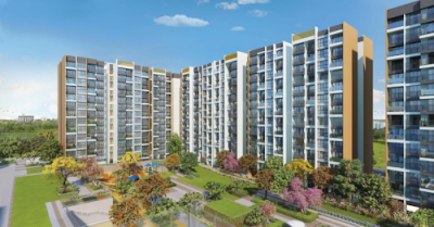 Gallery Cover Image of 1350 Sq.ft 2 BHK Apartment for buy in L And T Seawoods Residences North Towers, Nerul for 21000000