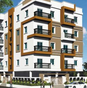 Gallery Cover Image of 1000 Sq.ft 2 BHK Apartment for buy in Bandlaguda Jagir for 3800000