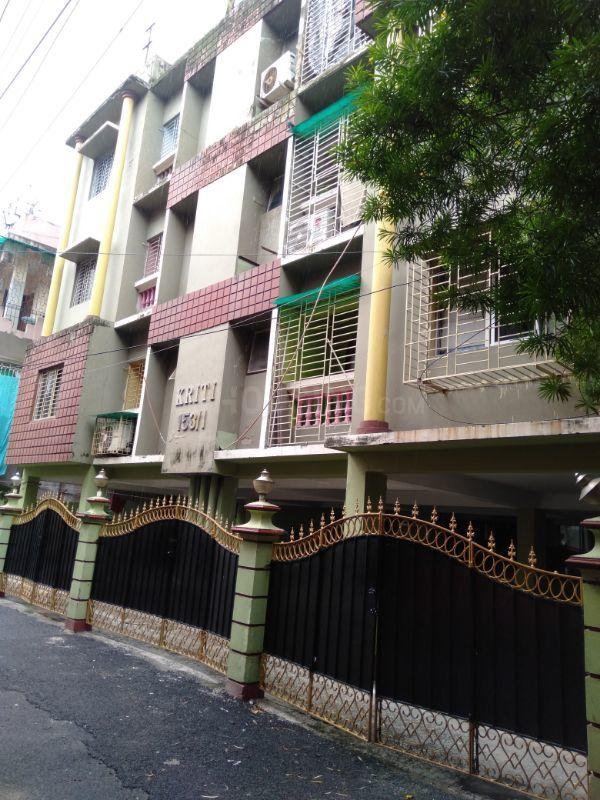 Building Image of 1200 Sq.ft 3 BHK Apartment for rent in Jadavpur for 16000