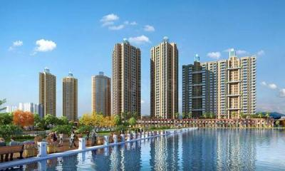 Gallery Cover Image of 992 Sq.ft 3 BHK Apartment for buy in Orovia Phase 1, Thane West for 14500000