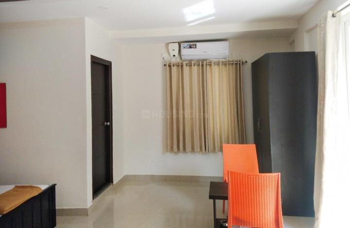 Living Room Image of 550 Sq.ft 1 RK Apartment for rent in Bellandur for 17000