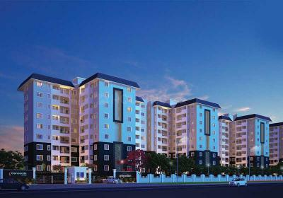 Gallery Cover Image of 1332 Sq.ft 3 BHK Apartment for buy in Concorde Spring Meadows, Jalahalli West for 7500000