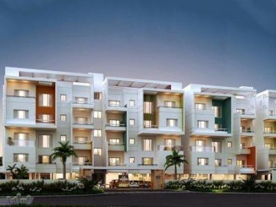 Gallery Cover Image of 1554 Sq.ft 3 BHK Apartment for buy in Perungudi for 9557000