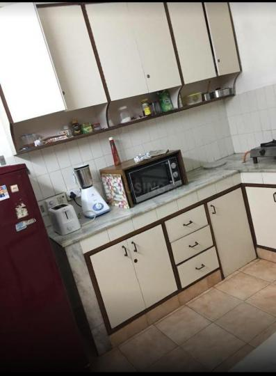 Kitchen Image of Veena PG in Greater Kailash I