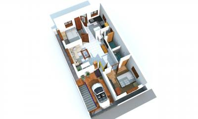 Gallery Cover Image of 850 Sq.ft 2 BHK Independent House for buy in Iyyappanthangal for 7500000
