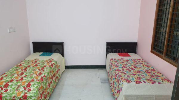 कोरमनगाला में श्री ओम साई कंफर्ट्स के बेडरूम की तस्वीर