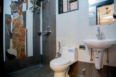Bathroom Image of 1401 Sq.ft 3 BHK Apartment for buy in Ashapurna Enclave Platinum Apartments, Mansarover Colony for 3200000