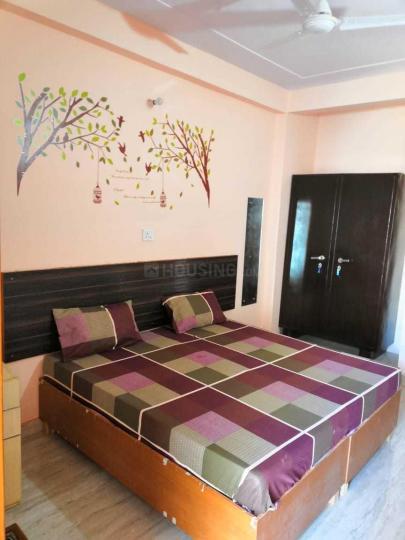 सेक्टर 53 में कृष्ण पीजी के बेडरूम की तस्वीर