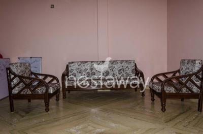 Living Room Image of PG 4642882 Chittaranjan Park in Chittaranjan Park