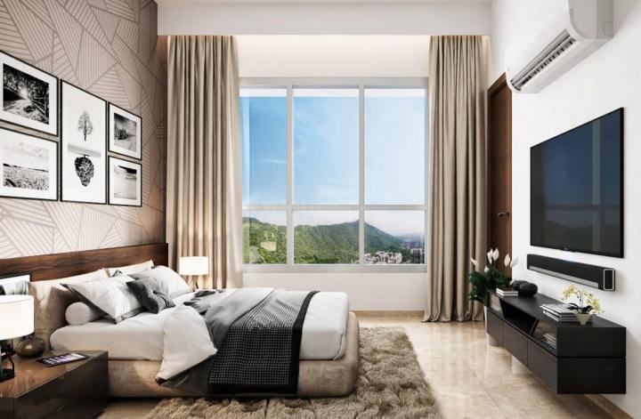 Bedroom Image of 1175 Sq.ft 2 BHK Apartment for buy in Shapoorji Pallonji BKC 28, Bandra East for 25000000