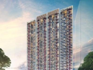 Gallery Cover Image of 760 Sq.ft 2 BHK Apartment for buy in Shapoorji Pallonji Northern Lights, Thane West for 13300000