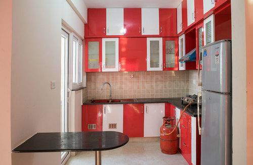 Kitchen Image of Flat C 402 Shriram Signiaa in Electronic City