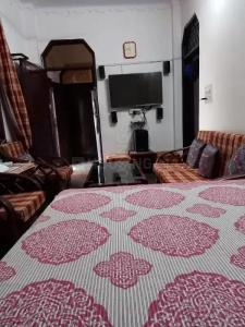 Living Room Image of Ex Sr. Police Officer House Avlbl For Girls PG Safe N Secure in Mehrauli