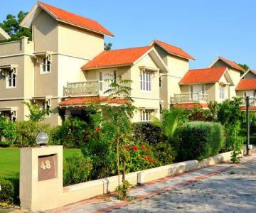 Gallery Cover Image of 3150 Sq.ft 4 BHK Villa for buy in Satyam Sentossa Greenland, Bhadaj for 32500000