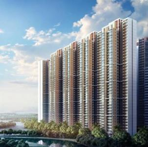 Gallery Cover Image of 906 Sq.ft 2 BHK Apartment for rent in Marathon Nexzone Zenith 1, Panvel for 15000