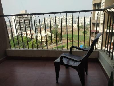 Balcony Image of Uday Hilltop Residency , Ravet in Ravet