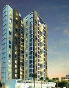 Gallery Cover Image of 705 Sq.ft 2 BHK Apartment for buy in Kasarvadavali, Thane West for 6776000