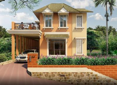 Gallery Cover Image of 2238 Sq.ft 3 BHK Villa for buy in Povorim for 17500000