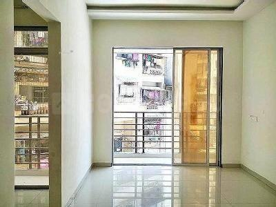 Living Room Image of 668 Sq.ft 1 BHK Apartment for rent in Kharghar for 12000